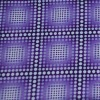Checks w/ polka dots pattern printed nylon knitted fabric wholesale