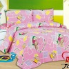 Children Polyester cartoon comforter bedding set
