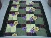 Chinese Printed flower design Polar Fleece Blanket