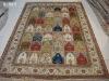 Chinese handmade 100% natural silk turkish 5.5x8 double knotted carpets and rugs