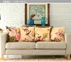 Chinese style cushion cover with digital sublimation printing