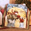Christmas blanket for happy new year/keep your family warm