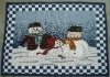 Christmas jacquard rug,  door mat,anti-slip floor mat