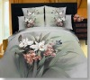 Classic!100%Combed Cotton Reactive Printed Bedding Set