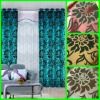 Classic polyester Flocked Window Curtain
