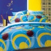Colorful pigment printing bedding sets