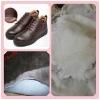 Coloured sheepskin for shoe lining