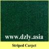 Colourful striped carpet