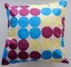 Colours circle cushion