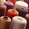 Combed colorful spun yarns