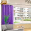 Contracted polyester modern window curtain