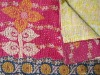 Cotton Kantha Quilts-Beautiful Floral Designs