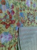 Cotton Kantha Quilts-Beautiful Floral Designs