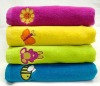 Cotton embroidered towels bath