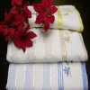 Cotton terry hand towel