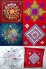 Coushion Cover/Hand Stiched, Embroidered, Nakshikanta
