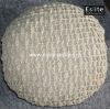 Crocheted Chair Cushion
