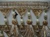 Curtain decoration imitated pearl beads tassel fringe