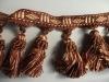 Curtain tassel fringe for home textile