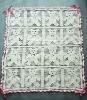 DD10002B Handmade Crocheted Baby Soft Blanket Afghan Coverlet Bear