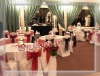 DESIGNER CHAIR COVERS AND TABLE CLOTHES
