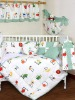 Dazzle Letter Infant Baby Bedding Crib Set