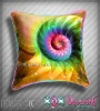 Digital Printed Cushion Cover MonaLisa on Velvet / silk /dupion /cottons.