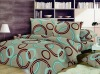 Disperse printing polyester Microfiber brushed fabric bedding setds