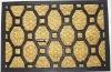 Door mat rubber plastic outdoor mats