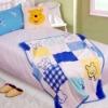 Double Side Velvet Animal Print Fleece Blankets For Baby