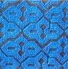 Double jacquard carpet