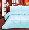 Down comforter with pillow shams