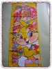 Easter gift Kawaii Bunny 100% Cotton velour reactive print cotton towel size:40*60