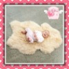 Eco-wool sheepskin baby rug(manufacturer)