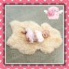 Eco-wool sheepskin baby rug(manufacturer)