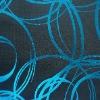 Elastic bule gilding polyester spandex fabric