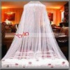 Elegant Lace Bed Canopy Mosquito Net White/Mosquito Netting