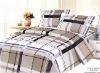 Elegant reactive printed bedding set