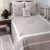 Embroidered Cotton Bedding sets ,quilt , quilt set,bedding