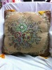 Embroidered cushion cover fabric