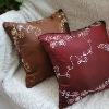Embroidery chenille sofa cushion(OYHGC206)