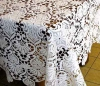 Embroidery lace table cloth