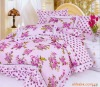 European style 100%Cotton Reactive Printed Bedding Set