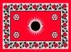 FAST COLOR PRINTED KG10.2--RED SUN KANGA