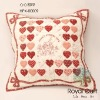 "Fabric ""Sweet heart"" cushion cover kit"