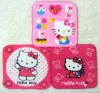 Face cloth with hello kitty