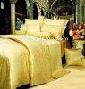 Fashion & Luxury Golden Silk Jacquard Quilt