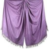 Fashion and Luxury Soft and Shiny Real Silk Throw