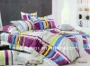 Fashion and luxury high quality pigment printed bed set