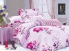Fashion and newest printed bed sheet sets